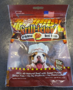 Loving Pets Grill-icious All-Natural Beef Treats
