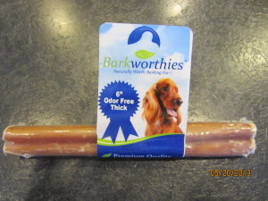 "Barkworthies 6"" Odor Free Thick Chew"