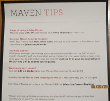 Maven Tips Information Card