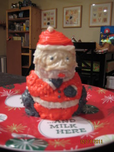 Santa Birthday Cake