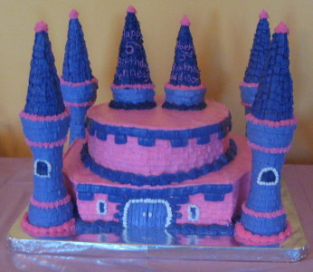 Princess Castle-Cake