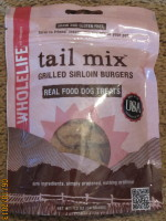 Whole Life Tail Mix-Grilled Sirloin Burgers
