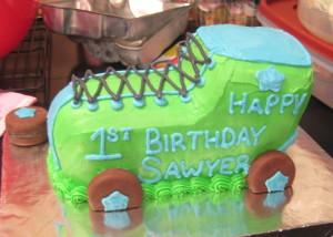 Left Side of Cake