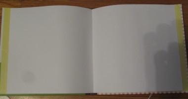 Inside of Scrapbook
