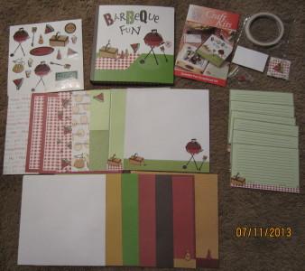 BBQ Scrapbooking Kit