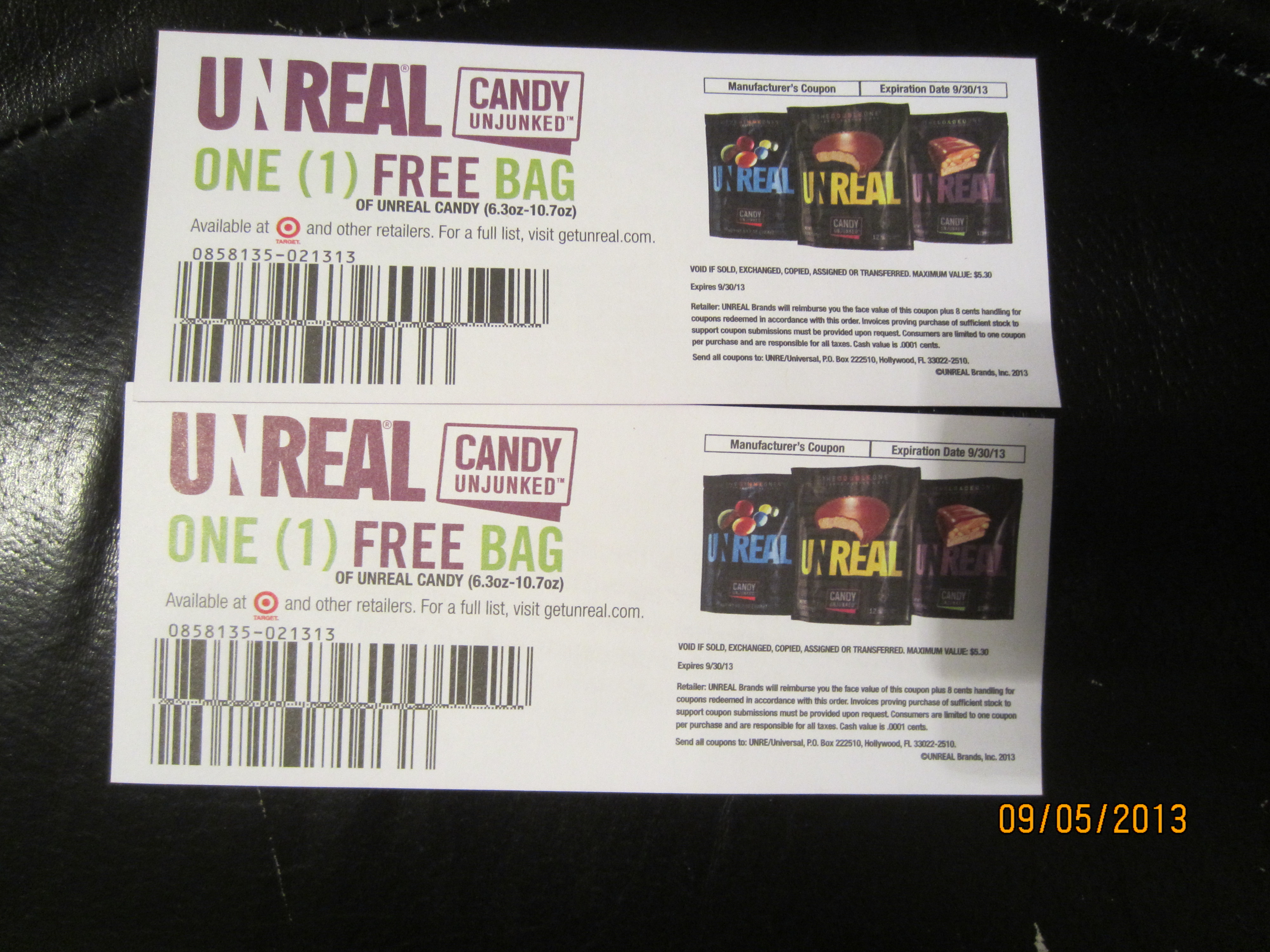 unreal candy coupon