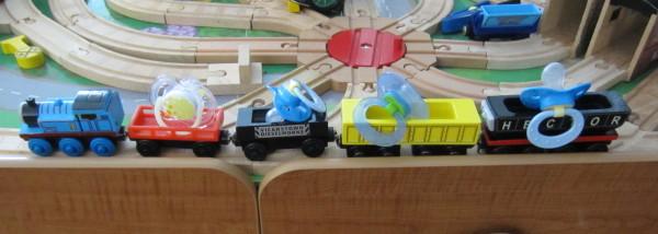 Binky Train!