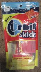 Orbit Gum for Kids