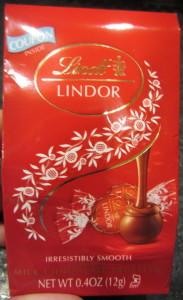 Lindt LINDOR Milk Chocolate Truffle