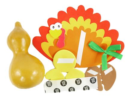 Gourd Turkey 2