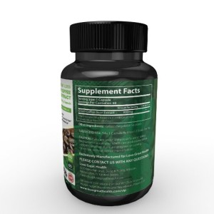 Green Coffee Extract Back