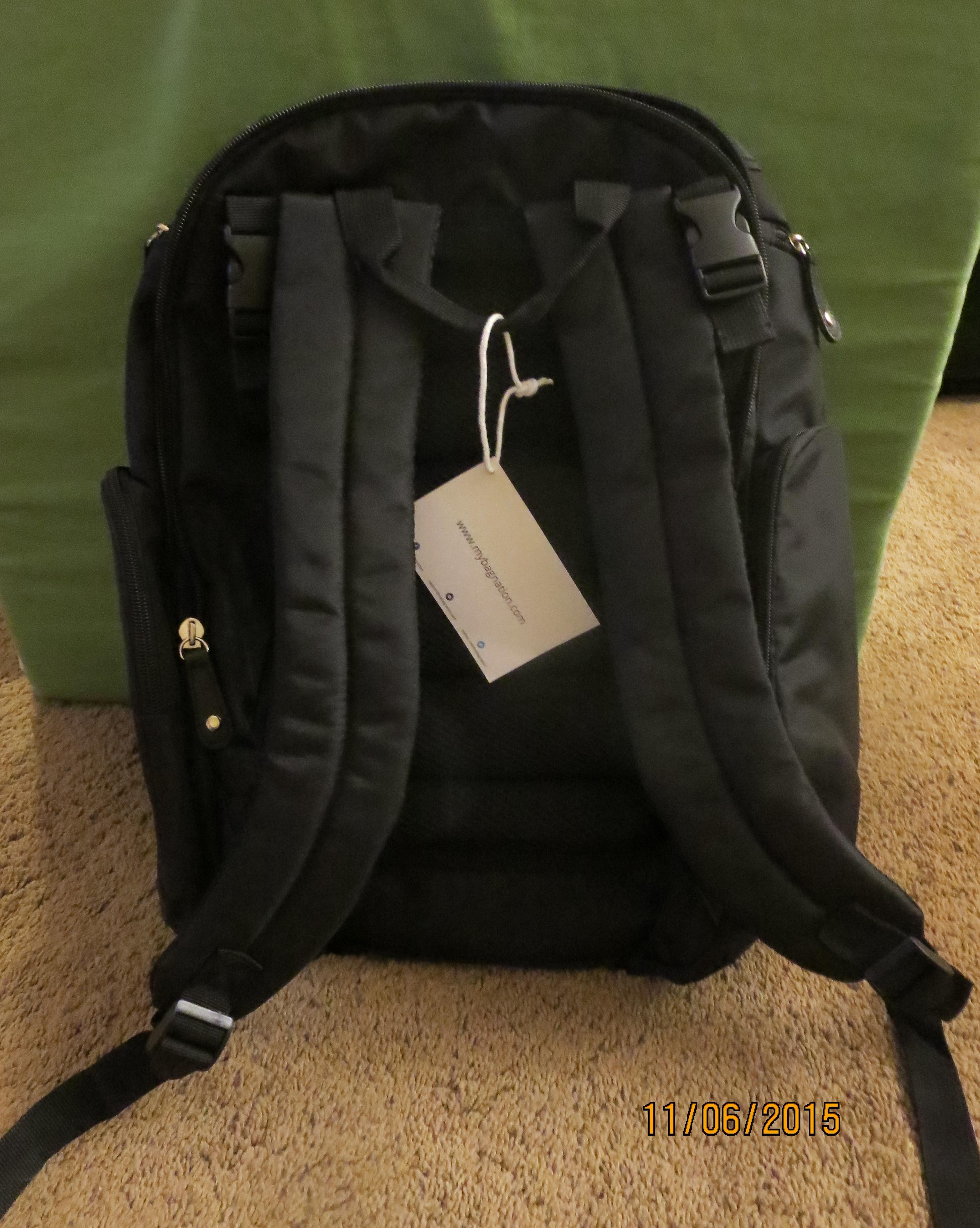 diaper nation diaper bag backpack review. Black Bedroom Furniture Sets. Home Design Ideas