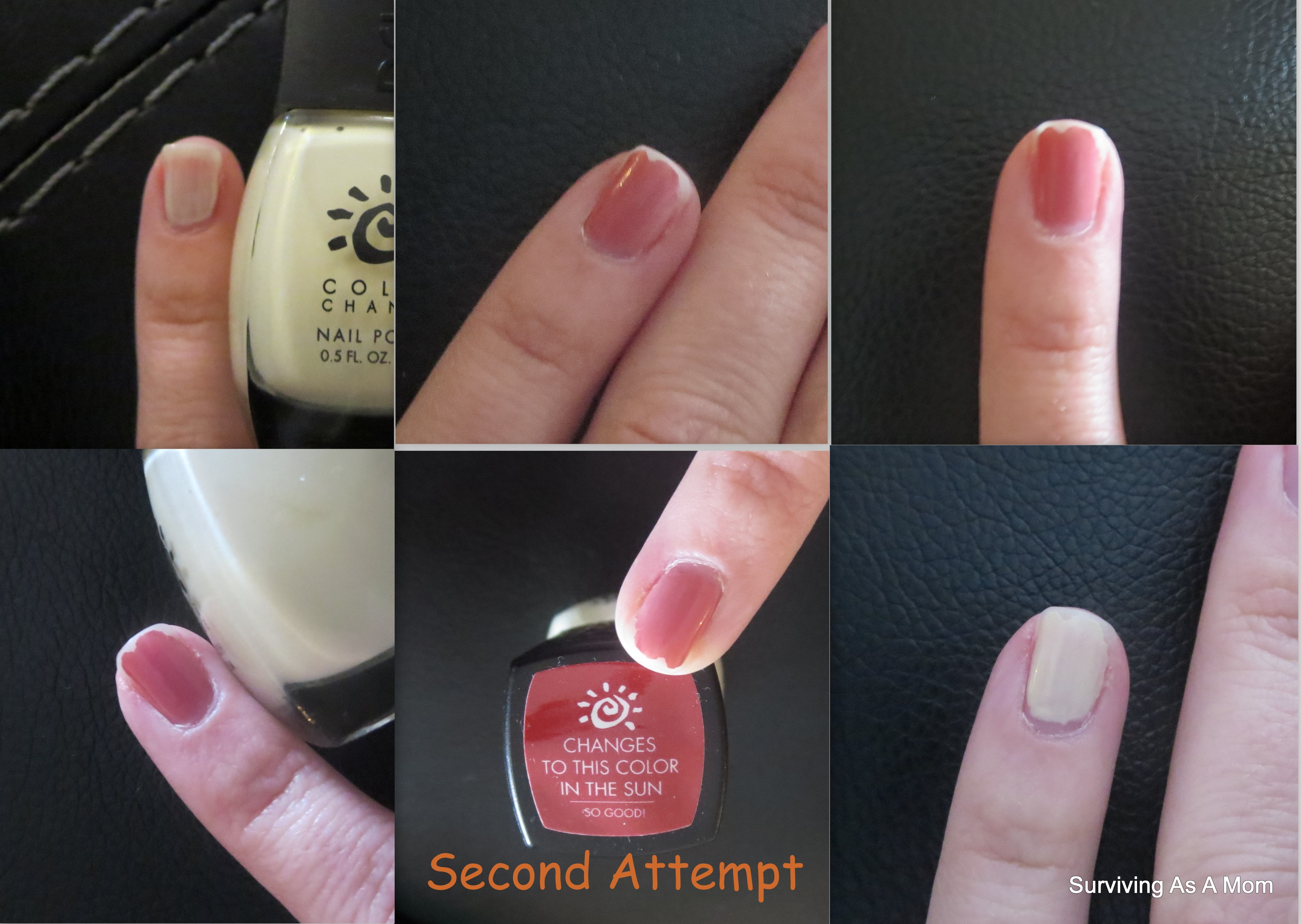 Color-Changing Nail Polish by Del Sol Review |