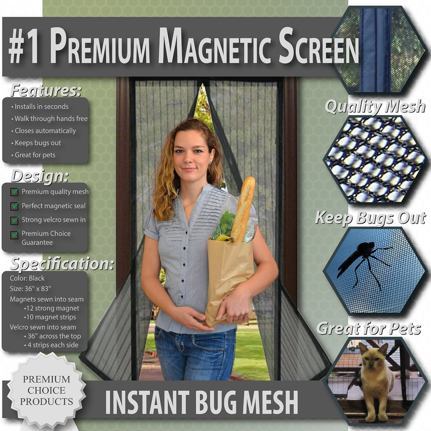 Premium Screen Door