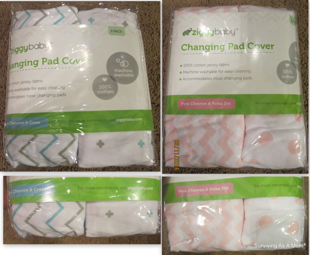 Baby Crib Sheets and Changing Pad Cover