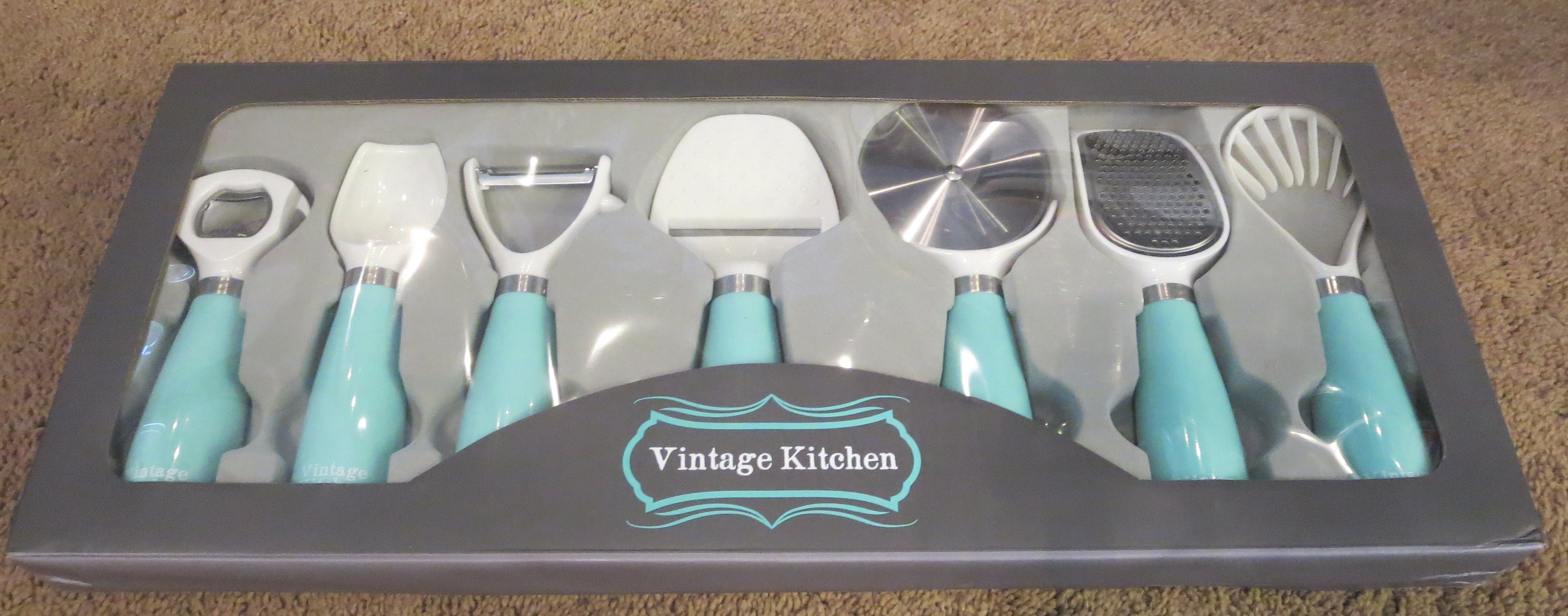 Vintage Kitchen 7-piece Kitchen Gadget Utensil Tool Set Review |