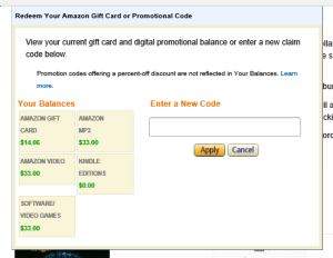 Amazon Credit 2