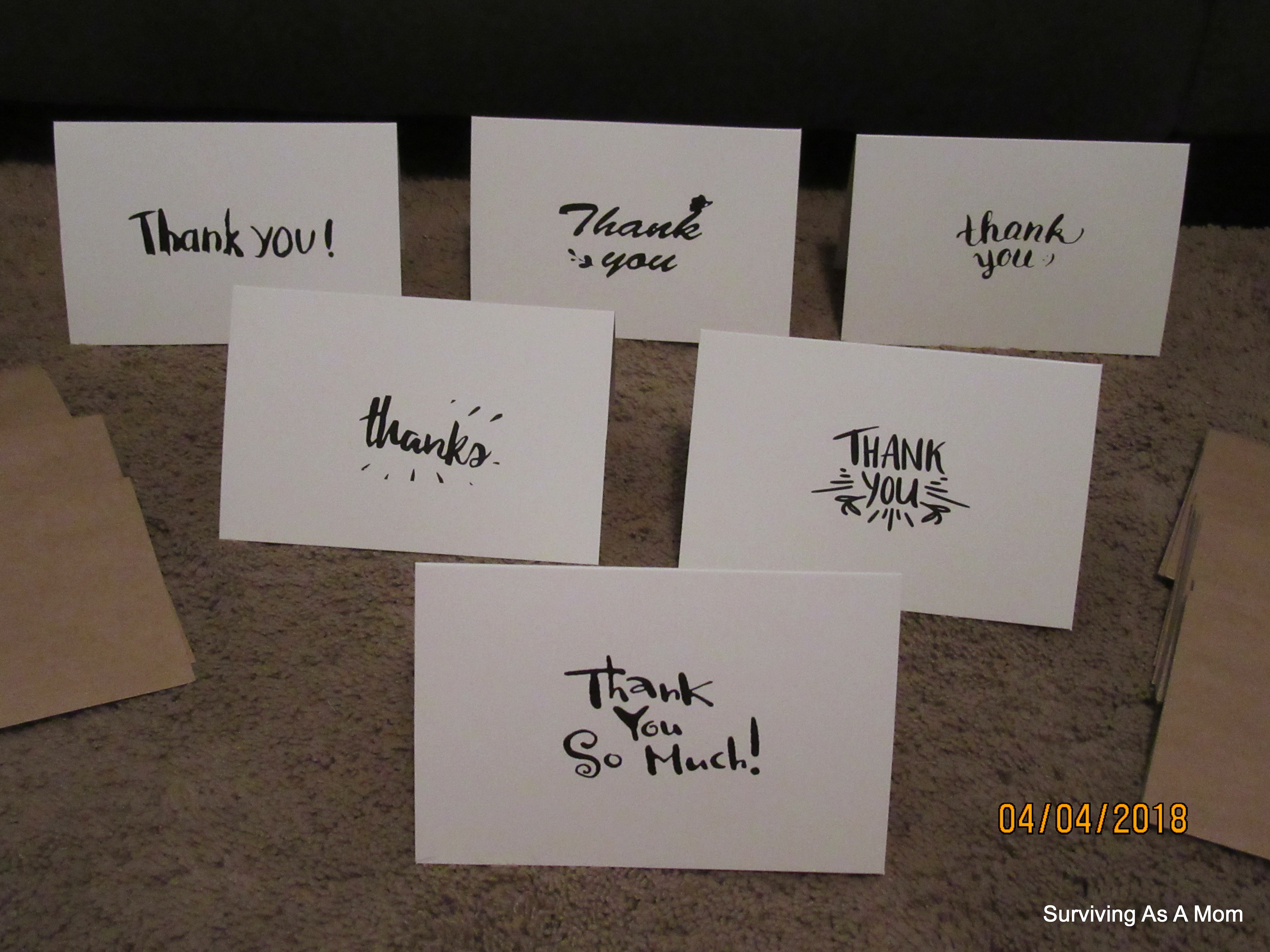 Suphouse Thank You Cards Review |